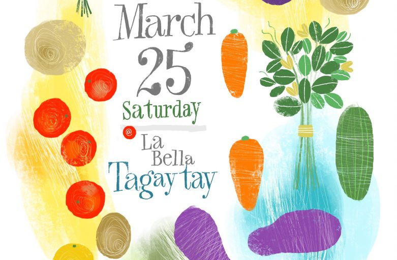 March 25 organic market poster